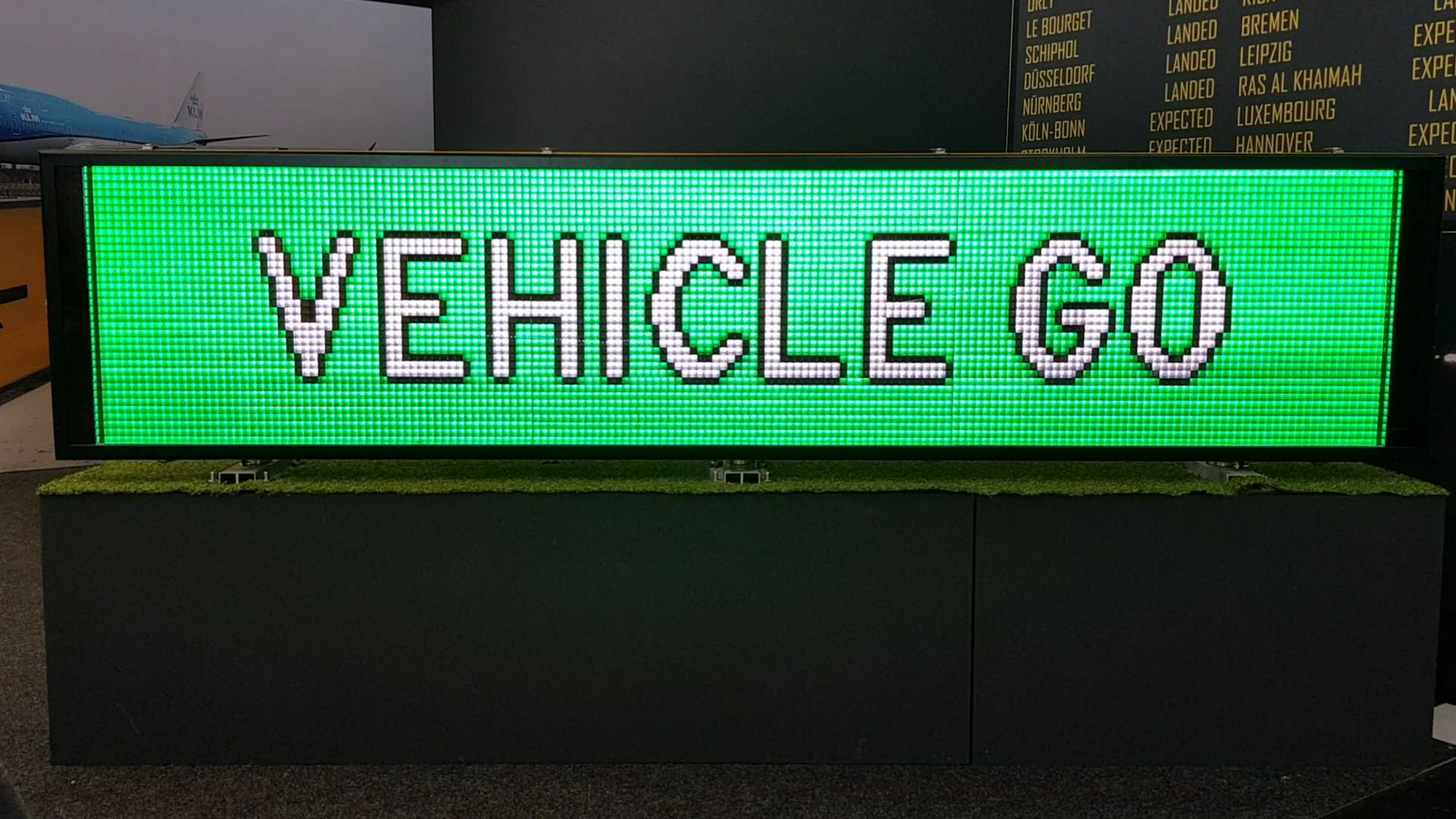 Vehicle Traffic Sign